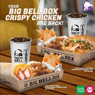 Calling out Big Bell Box Crispy Chicken lovers! Your favorites are back! Don't miss the chance grab one now.