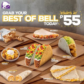 More Taco Bell, more fun. Order and enjoy your Best of Bell today!