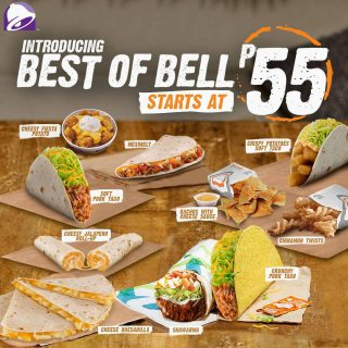 The BEST of your Taco Bell favorites are here! Drop by the nearest Taco Bell and dig into your favorites now!