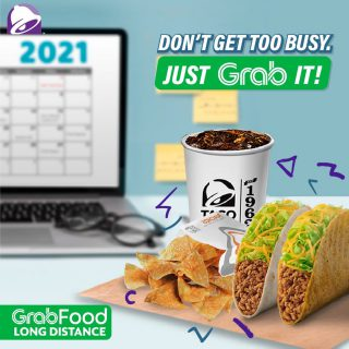 Too busy planning ahead? Don't miss your snack and order your favorites through @grabfoodph! Available in Long Distance Delivery.